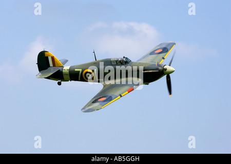 Ein Veteran Hawker Sea Hurricane der Royal Navy - Stockfoto