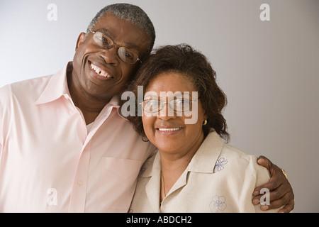 Älteres paar afroamerikanische - Stockfoto
