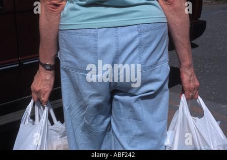 Einkaufstaschen - Stockfoto