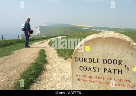 Durdle Door in Dorset, England - Stockfoto