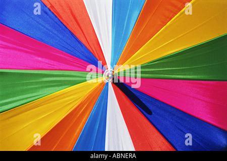 Bunten Sonnenschirm - Stockfoto