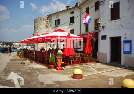 Novigrad sehr Istrien Kroatien ehemalige ex-Jugoslawien Cittanova Istrien Kroatien Hrvatska istrischen Halbinsel - Stockfoto