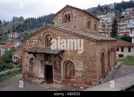 Kastoria, Kirche Haghii Anarghyri (Agioi Anargyroi), Süd-West-Ansicht - Stockfoto