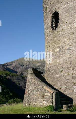 Dolbadarn Burg in Llanberis Wales - Stockfoto
