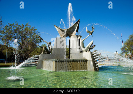 Brunnenplatz Victoria Adelaide South Australia Australien - Stockfoto