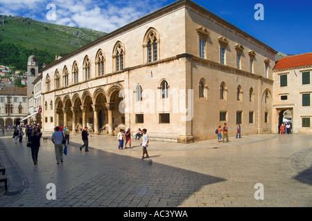Fürstenpalast in Dubrovnik Kroatien - Stockfoto