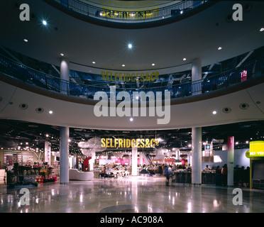 Selfridges, Birmingham (2003) - im Erdgeschoss. Architekt: Zukünftige Systeme - Stockfoto