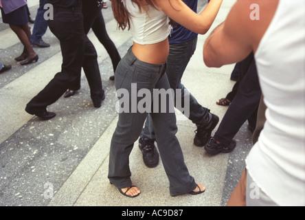 Buenos Aires Argentinien Südamerika BsAs Tango-Klasse nach der Arbeit in die Stadt HOMER SYKES - Stockfoto