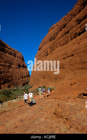 Walpa Gorge, die Olgas, Kata Tjuta National Park, Northern Territory, Australien - Stockfoto