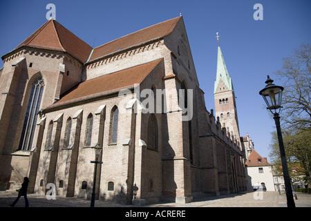 Dom, Augsburg, Bayern, Deutschland - Stockfoto
