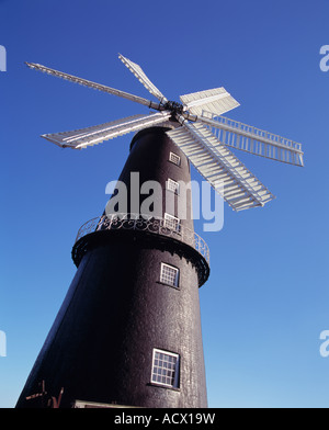 Sibsey Händler Mühle, Sibsey, Lincolnshire, England. - Stockfoto