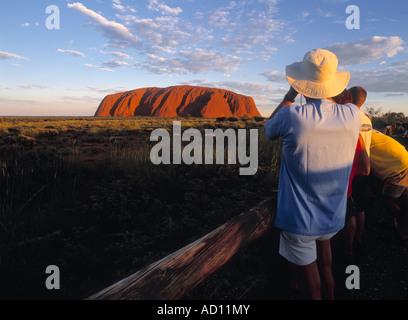 Ayers Rock (Uluru), Northern Territory, Australien - Stockfoto