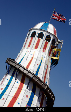 Helter Skelter. Brighton, West Sussex, England, UK - Stockfoto