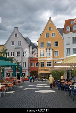 Hauptplatz, Augsburg, Deutschland - Stockfoto