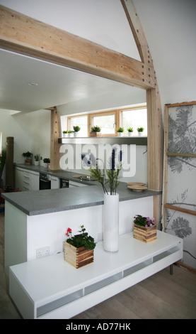 Großbritannien s erste Net Zero Carbon Haus Sheppard Robson Architekten - Stockfoto