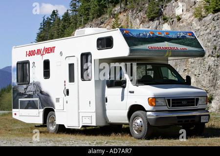 Wohnmobil auf Vancouver Island, British Columbia, Kanada - Stockfoto