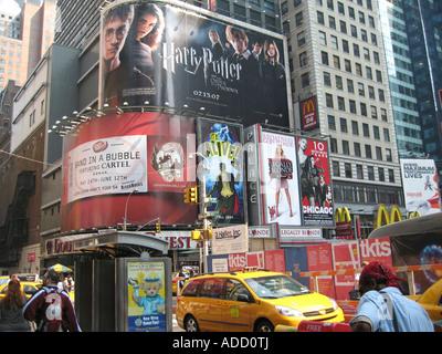 Time Square in New York City - Stockfoto