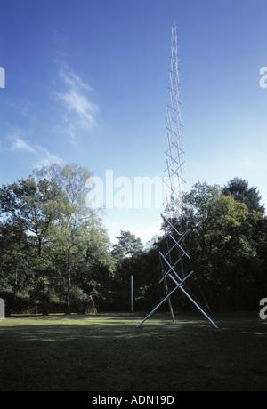 Otterloo, Rijksmuseum Kröller-Müller, Skulpturenpark, '''Needle Tower'' von Kenneth Snelson, 1968'