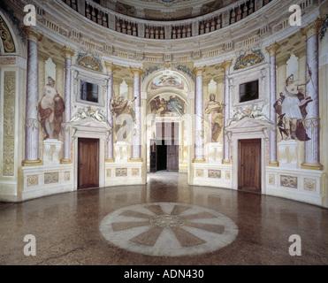 Vicenza Villa Almerico Capra Dimmed La Rotonda 1566 1570