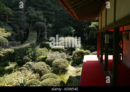 Sanzen im buddhistischen tempel ohara japan jizo - Moosgarten kyoto ...