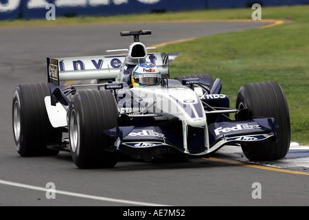 Nick Heidfeld GER Williams BMW FW27 australischen Grand Prix Formel 1 Freitag 2 6 03 05-Melbourne-Australien - Stockfoto