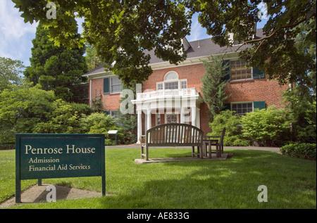 """Penrose Haus, Whitman College in Walla Walla, Wasington"" - Stockfoto"