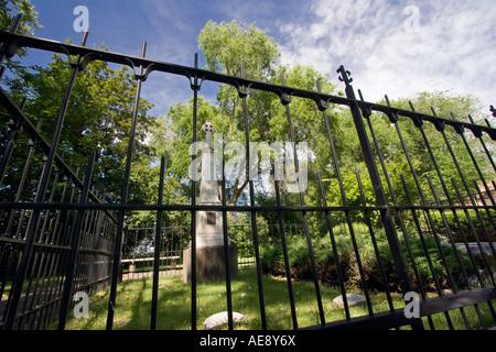 """""""Das große Grab auf die Whitman-Mission National Historic Site in der Nähe von Walla Walla, Washington"""" - Stockfoto"""
