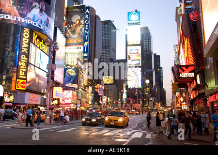Times Square-New York-USA - Stockfoto