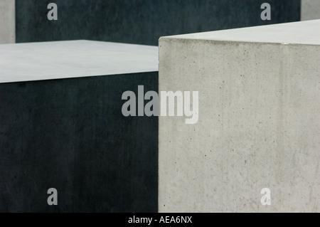Berlin Holocaust große Denkmal für die ermordeten Juden Europas-Deutschland DETAIL - Stockfoto