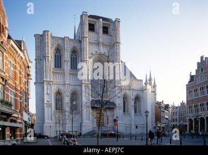 Leuven / Löwen, St. Pieterskerk Kathedrale St-Pierre - Stockfoto