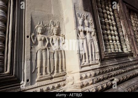 Angkor Wat in Kambodscha - Stockfoto