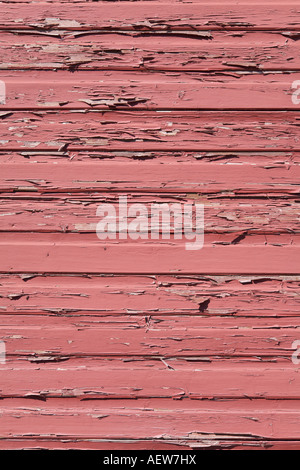 Peeling aus bemalten hölzernen Gebäude malen - Stockfoto