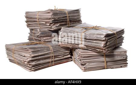 Zeitungen News Papier Zeitung - Stockfoto