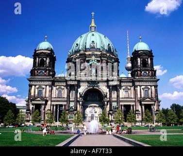 Geographie/Reisen, Deutschland, Berlin, Gebäude, Kirchen, Berliner Dom, erbaut 1894-1905 von Julius Raschdorf, Außenansicht, - Stockfoto