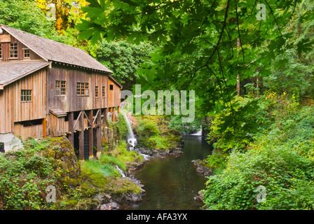 Cedar Creek Grist Mill Clark County Washington - Stockfoto