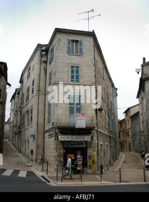 Perigueux Stadt Wohnung Shop Dordogne Frankreich - Stockfoto