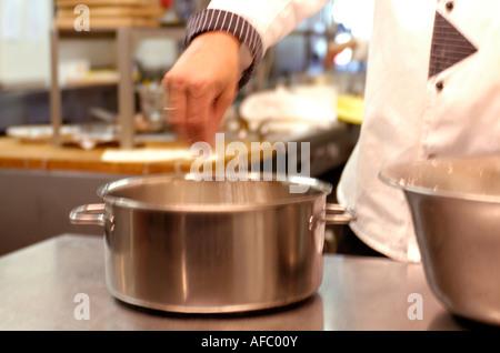 Küche, Koch - Stockfoto