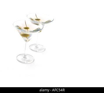 Zwei Martinis - Stockfoto