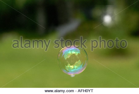 Såpbubbla - Stockfoto