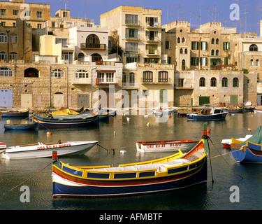 MT - MALTA: Spinola Hafen von St. Julian - Stockfoto