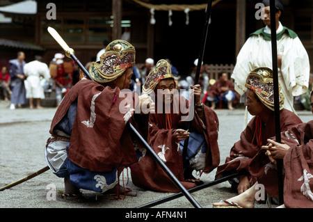 Geographie/Reisen, Japan, Kyoto, Tradition/Folklore, Aoi-Matsuri, traditionelle Prozession, - Stockfoto