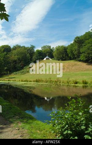 Painshill Park türkische Zelt Stockfotografie Alamy