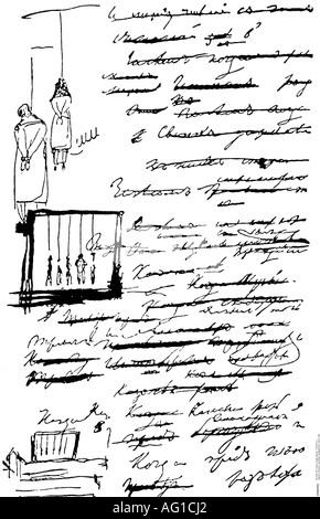 Alexander Sergeyevich Pushkin 1799 1837 Russischer Dichter