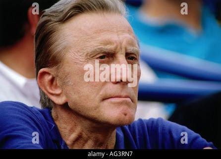Douglas, Kirk, * 9.12.1916, US-amerikanischer Schauspieler, Porträt, 1990er Jahre, - Stockfoto