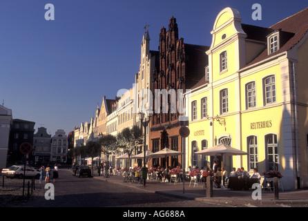 AJ17171, Deutschland, Wismar, Europa, Mecklenburg-Vorpommern - Stockfoto