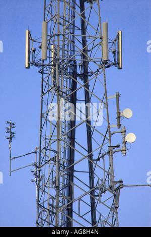 Telekommunikation-Sendemast - Stockfoto