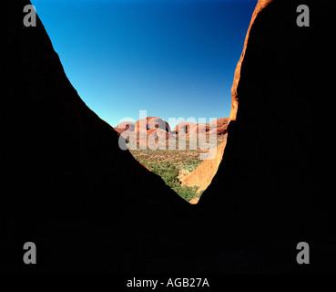Die Olgas Kata Tjuta nördlichen Territorien Australien - Stockfoto