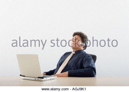Unternehmer denken - Stockfoto