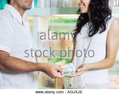 Frau sucht mann mit viel geld