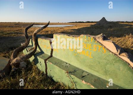 Hwange Nationalpark, Simbabwe - Stockfoto